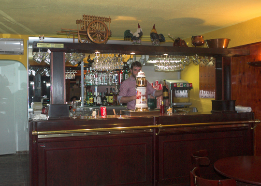 Restaurant Corral barra