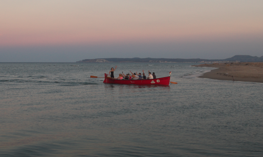El Llagut català al mar Mediterrani